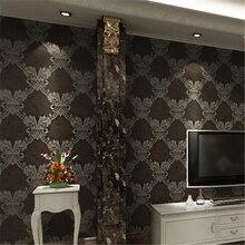 Beibehang de lujo europeo viviendo papel tapiz para habitación salón vintage Maine simple estilo nostálgico americano Fondo dormitorio