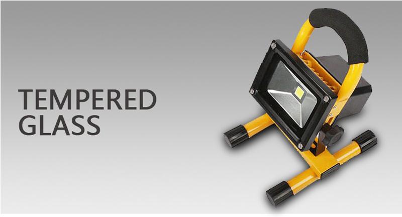Solar LED Spotlight Outdoor Floodlights 10W IP65 Waterproof Portable Solar Powered Refletor Led Rechargeable Camping Flood light (26)