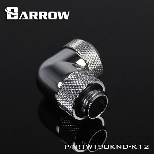Barrow TWT90KND-K12 / TWT90KND-K14, 90 dərəcə dönərli sərt boru - Kompüter hissələri - Fotoqrafiya 5
