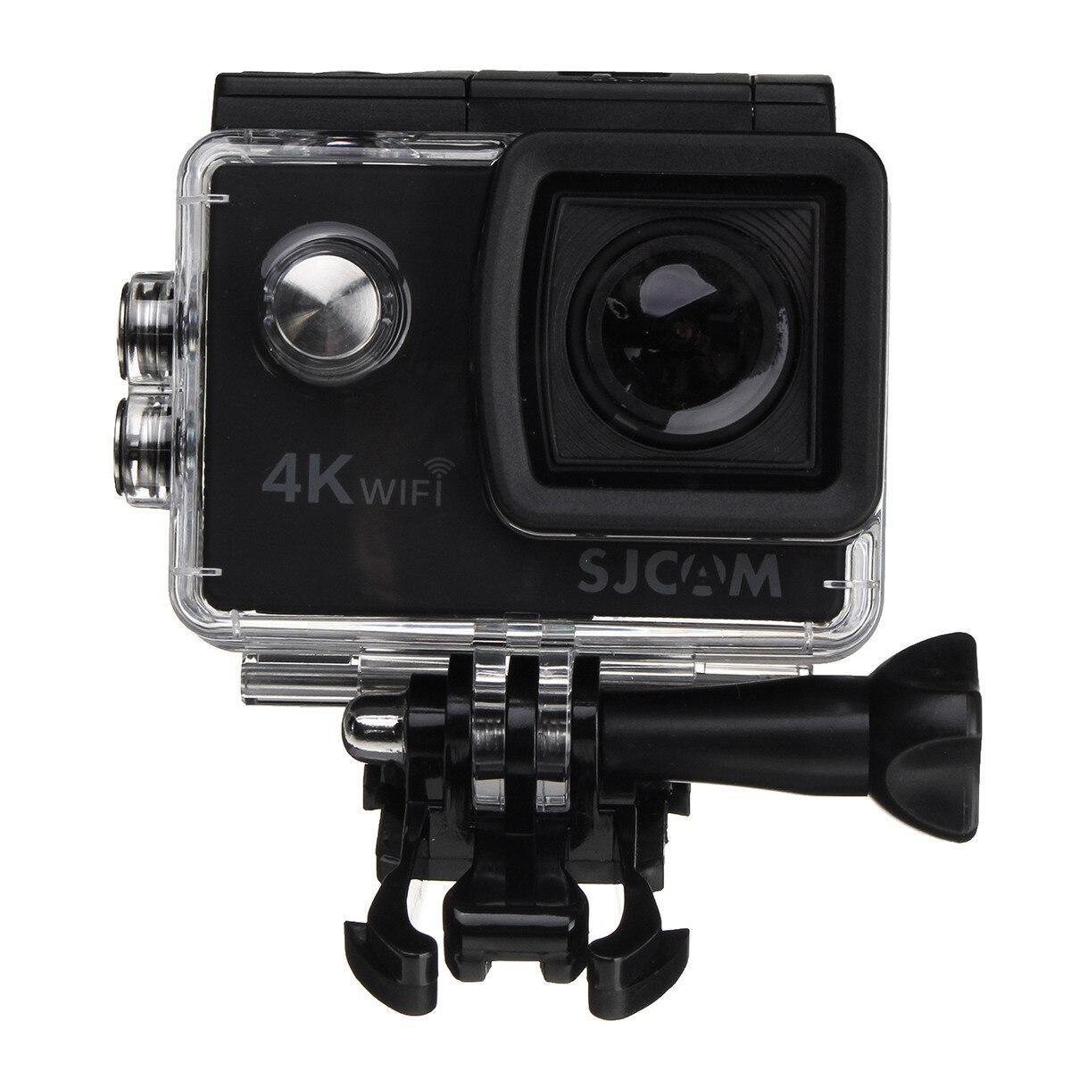 Широкий формат 2 дюймов ЖК дисплей экран 4k 1080P HD Wi Fi действие камера подводный камера с защитой от влаги Спорт на открытом воздухе мин видеока...