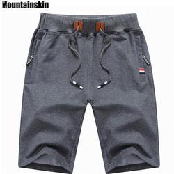 Mountainskin 2019 одноцветное для мужчин's шорты для женщин 6XL Лето мужчин s пляжные хлопковые повседневные мужские шорты homme брендовая одежда SA210
