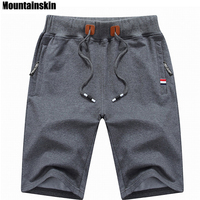 Mountainskin 2017 Solid Men S Shorts 4XL Summer Mens Beach Shorts Cotton Casual Male Shorts Homme