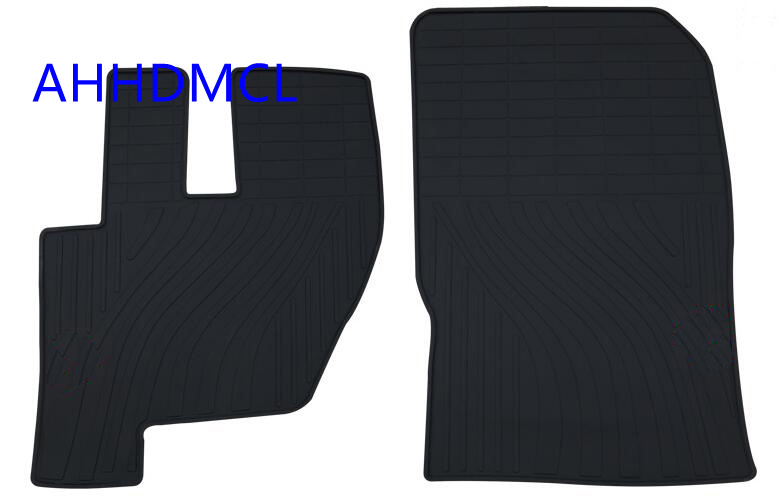 Truck Rubber Floor Mats Anti Slip Mat Carpets Feet Pad Custom Fit For CNHTC Howo A7 T7H Left Hand Drive-in Floor Mats from Automobiles & Motorcycles    1