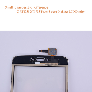 "Image 4 - Super Qualität 5,0 ""Für Motorola Moto C Touch XT1750 XT1755 XT1754 XT1756 Touchscreen Digitizer Front Glas Panel Sensor schwarz"