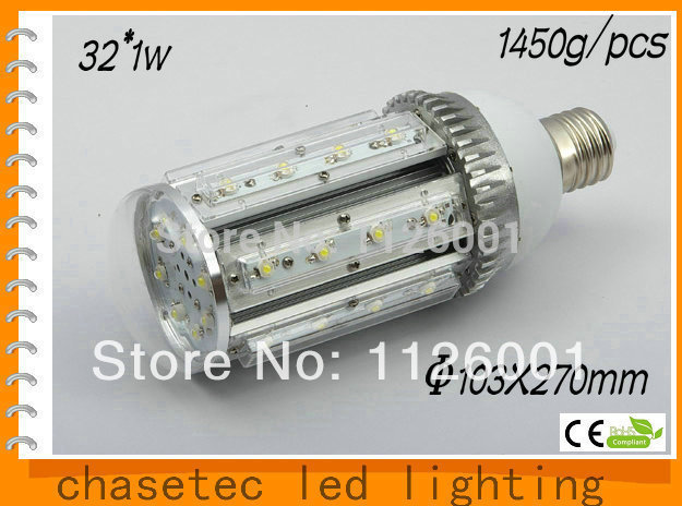 2015 Sale Real Street Led 2pcs Lot E40 E27 Corn Light with 32w Power 85 To 265v Ac Voltage Ce And Rohs Certified sale ac85 265v 60w led street light ip65 bridgelux 130lm w led led street light 3 year warranty 1 pcs per lot