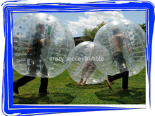 Crazy ! ! ! ! ! human soccer bubble