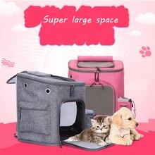 DannyKarl Zipper Mesh Backpack Breathable Dog Bag 4 Colors Pink Pet Carriers Cat Outdoor Travel Carrier Packbag Portable