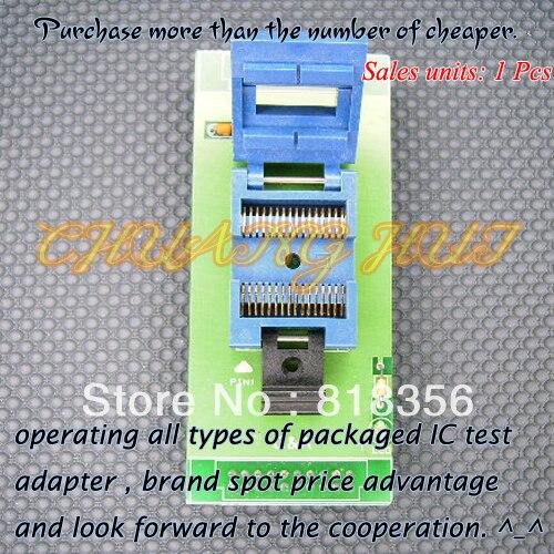 GW-32SOPプログラマアダプタsop32 soic32 icテストソケット(フリップテストシート)