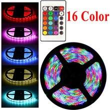 цена на 20 Color RGB LED Strip 220V Light 5050 2835 10M 5M 20M LED Light rgb Leds tape diode ribbon Flexible Controller Adapter 12v set