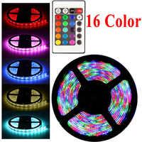 Tira de luces LED RGB de 20 colores 220 V, 5050, 2835, 10 M, 5 M, 20 M, tira de Leds rgb, cinta de diodos, adaptador de controlador Flexible, juego de 12v