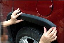 Черный Цвет Пластик колеса автомобиля верх АРКА fender 10 шт. для Jeep Компасы 2015 2014 2013 2012 2011 новый