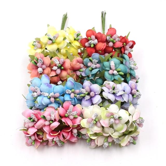 6 Teile Los Kleinen Wildblumen Staubblatt Tee Knospe Kunstliche