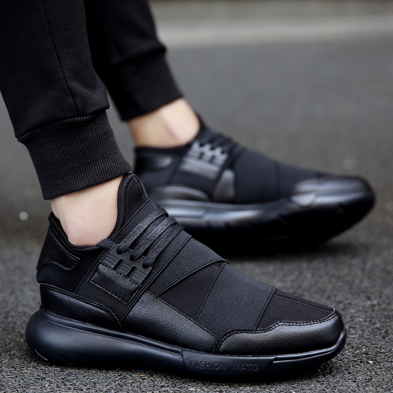 European Fashion Men Casual Shoes Lace Up Comfortable Shoes Men Soft Lightweight Outdoor Zapatos Hombre trainers #16-3
