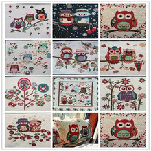 Free Shipping 10Piece 50*50CM High Quality Linen Cotton Jacquard Fabric Material Textile Sew Pillow Cushion Cloth Patchwork