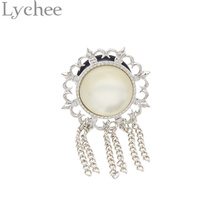 1 piece Lychee Vintage Crystal Ear Plugs Tunnels Tassels Dangles Ear Saddles Expanders and Gauges Ear Piercing Body Jewelry