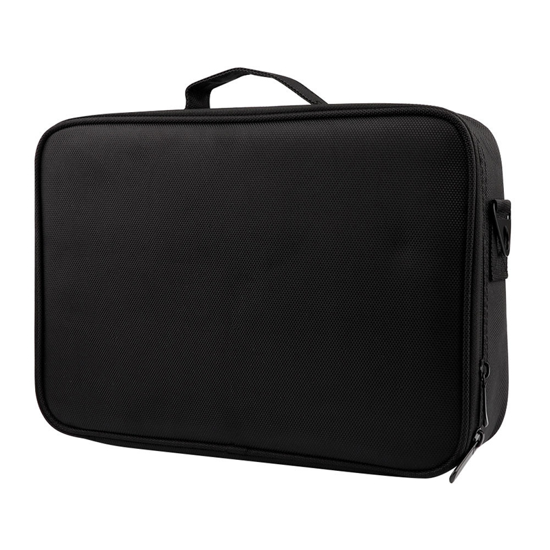 Large Capacity Makeup Case 3 Layers Cosmetic Organizer Brush Bag Makeup Train Case Makeup Artist Box For Hair Curler Hair Stra