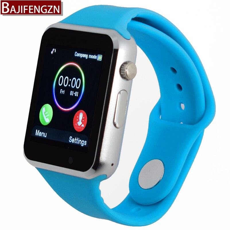 imágenes para Bluetooth smart watch para el teléfono android soporte sim/tf reloj inteligente pulsera del deporte cámara de la ayuda, tarjeta SIM PK DZ09 GT08
