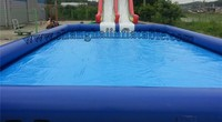 Free blower Adult Large Swimming Pool Inflatable Water Swimming Pool For Sale