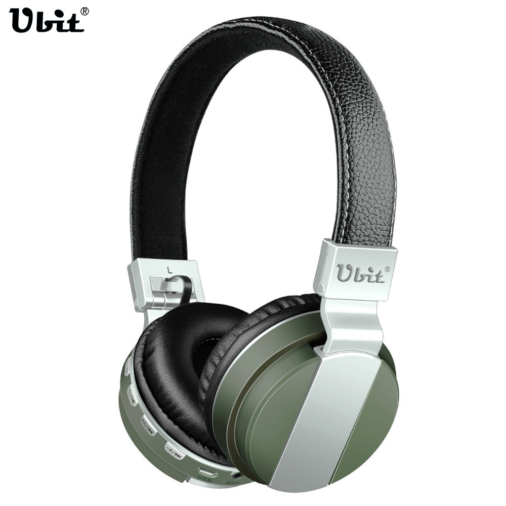 Ubit BT008 Bluetooth Headphone With FM Radio AUX TF Card MP3 Sports Magic Headband Wireless Headset