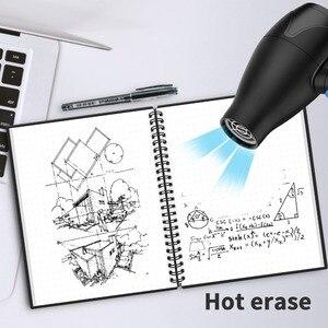 Image 5 - NeWYeS Cuaderno A6 reutilizable con bolígrafo de tinta, libreta borrable inteligente, para diario, con ondas de microondas, borrado en la nube, cuaderno de bolsillo forrado