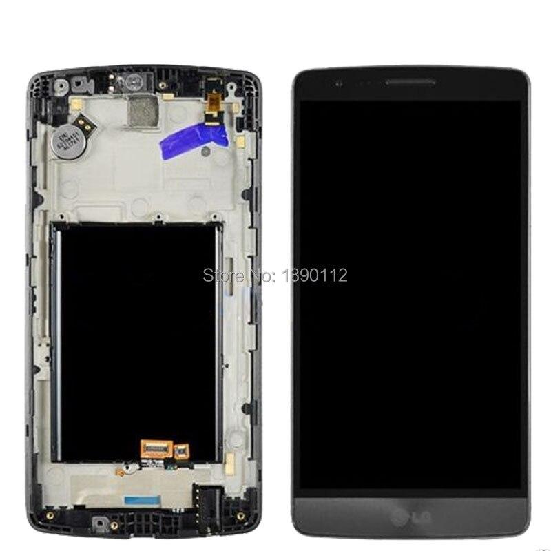 OEM For LG G3 mini D722 D722K D722V D724 D725 D728 LCD Screen, Digitizer & Frame Black