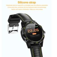 men waterproof SKY 1 Smart Watch IP68 Waterproof Fitness Tracker Heart Rate Monitor Blood Pressure Women Men Clock For Android IOS Phone (2)