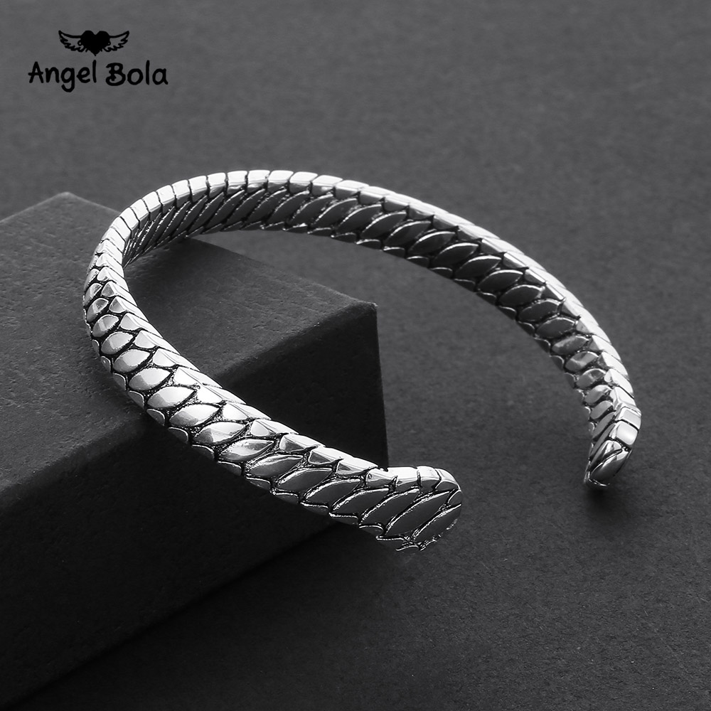 New Arrival Vintage Design Cuff Wristband High Quality Ancient Silver Plated Buddha Bracelet Banquet Accessory Women Gift