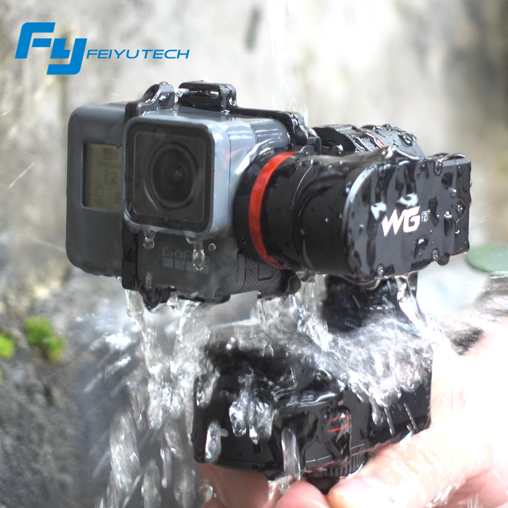 FeiyuTech feiyu WG2 Wearable Mountable 3-axis Waterproof Gimbal Stabilizer for Gopro 6 4 5 session YI 4K SJCAM AEE Action Camera цены