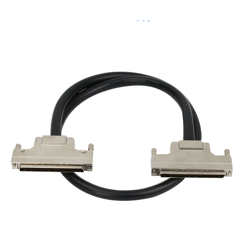 High Quality SCSI Cable HPDB100 Cable HPDB 100 Pin Male To Male Cable Office Computer Connector