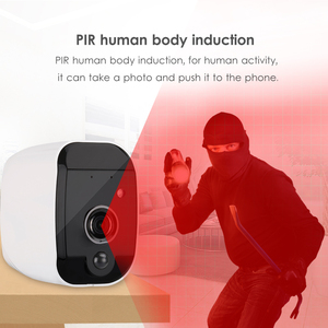 Image 4 - Marlboze Smart Batterij 1080 P HD wifi IP camera met nachtzicht bewegingsdetectie Audio suppor TF Card APP Alarm push thuis camera