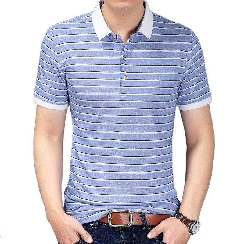 2018 NEW Striped   Polo   Shirts Men Clothes Short Sleeve   Polo   Men's Casual Regular fit Cotton   Polos   Para Hombre 092059