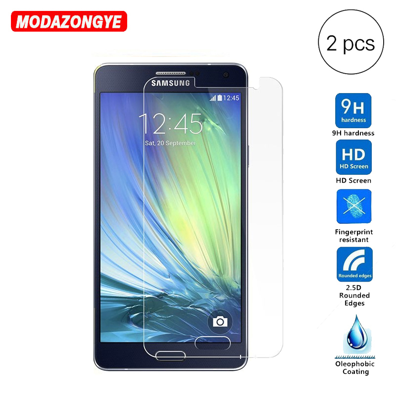 2Pcs Glass For Samsung Galaxy A5 2015 Screen Protector Film Tempered Glass For Samsung Galaxy A5 2015 A500F A500 SM-A500F DS