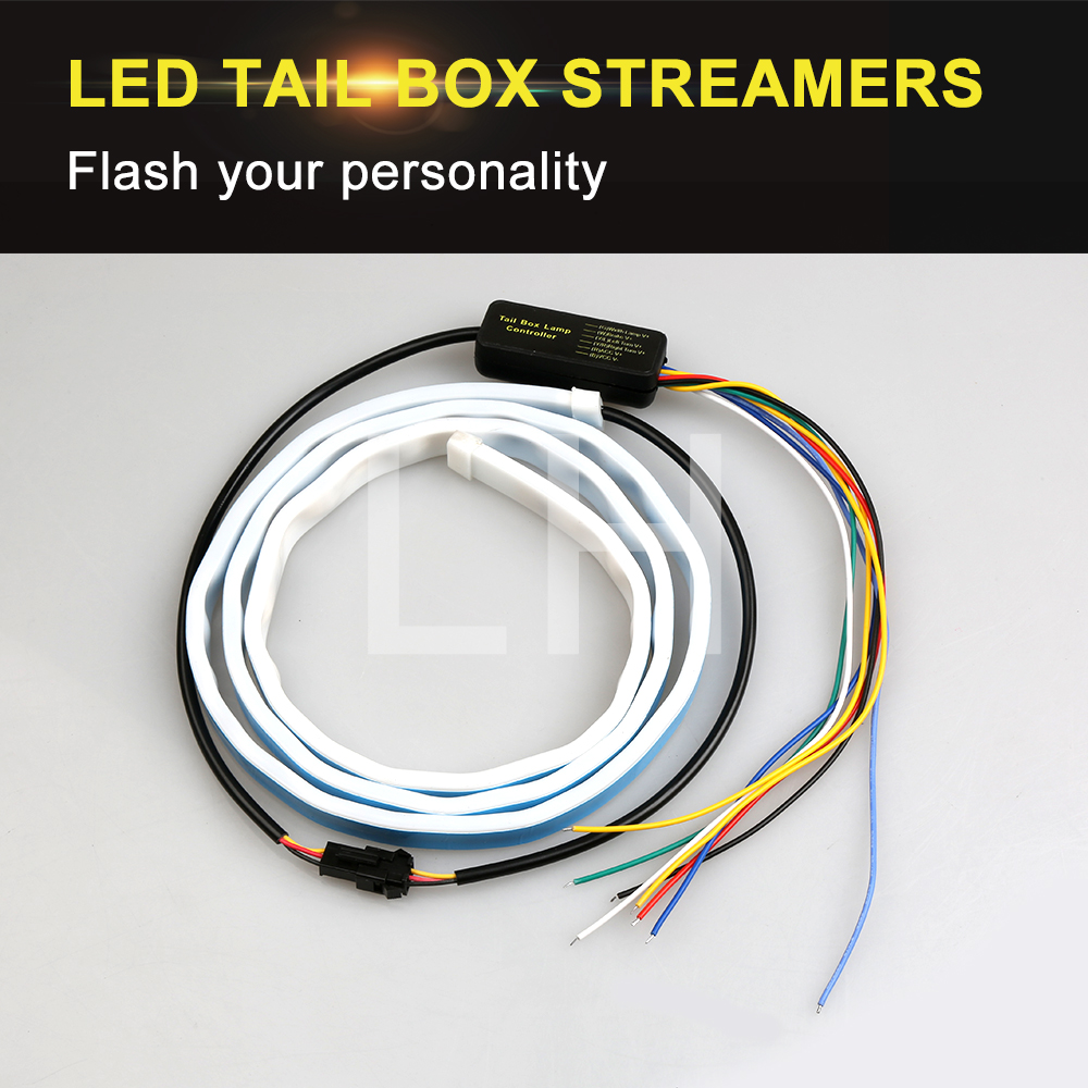 Car Styling RGB Undercarriage Floating Led Dynamic Streamer Turn Signal Tail LED Warning Lights