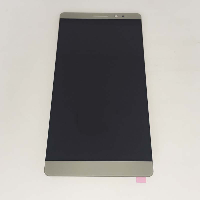 New Gold LCD Display Screen Touch Digitizer Assembly For Huawei Ascend Mate 8 NXT-L00 L10 L09 Replacement 6 lcd display screen touch glass digitizer assembly for huawei ascend mate 8 mate8 white gold free shipping