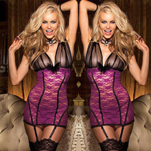 Jian Peng New Lingerie Lace Babydoll Womens Underwear Nightwear Sleepwear Bodysuit Women Sexy Clothes Bodysuits
