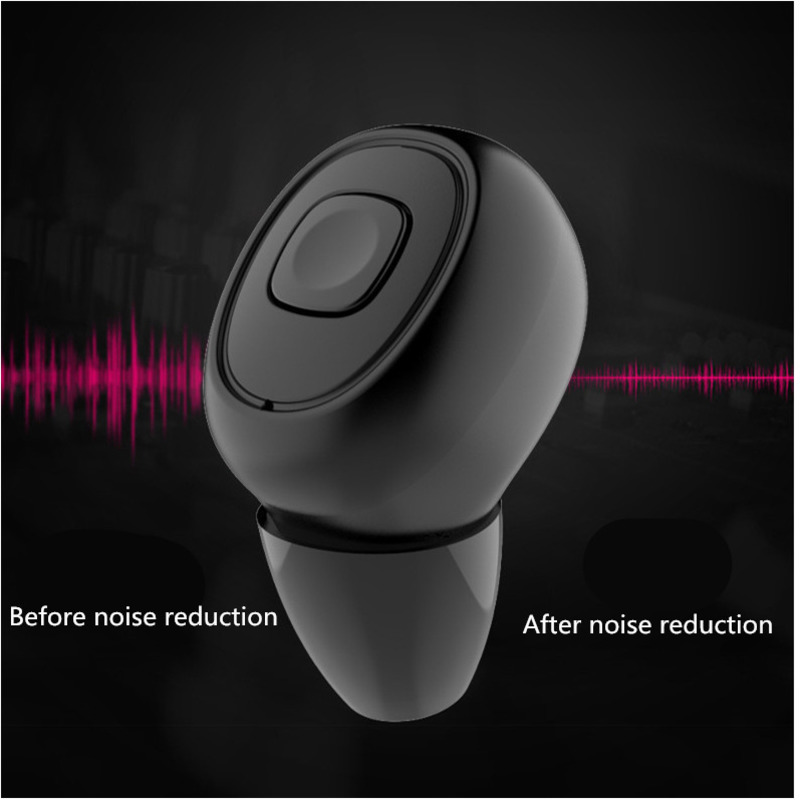 Wireless Stereo Motion Bluetooth Headset Tws Bring Move Power Supply Noise Cancellation With Mic Handsfree Earbuds Earphone eh in Bluetooth Earphones Headphones from Consumer Electronics