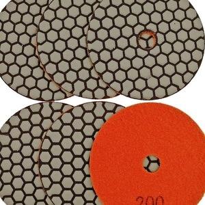 """Image 5 - DIATOOL 6 pcs 4 """"/100mm Grit #200 Diamant À Sec Polishing Pad Pour Granit et Marbre, ponçage Disque Pour Travailler la Pierre Sans Eau"""