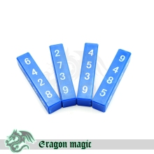 Block Calculation Magic Tricks Free Shipping Magia Trick Toys Child Easy Close up Fun Magie