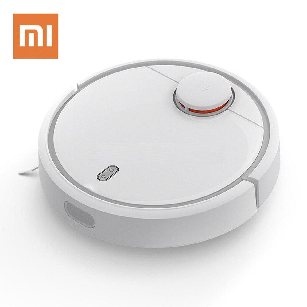Aspirateur d'origine XIAOMI Mijia pour la maison balayage automatique intelligent planifié WIFI APP Mobile contrôle Charge poussière stériliser
