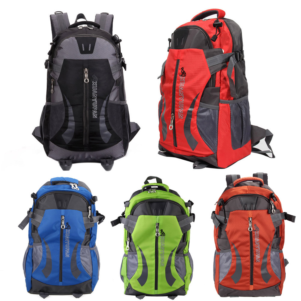 Outdoor Climbing Backpack Hiking Athletic Sports Backpacks Travel Camping Bag Large Capacity Rucksack Knapsack Waterproof Pack outdoor camo tactical backpack men rucksack waterproof knapsack travel weekend hiking camping backpacks large capacity bag