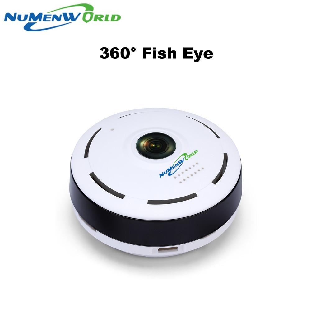 Cámara de ojo de pez IP inalámbrica panorámica inteligente, 360 grados, con Audio bidireccional, P2P, 960P, HD, wifi