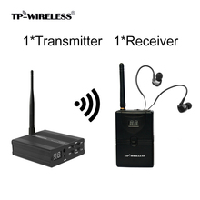 TP беспроводной монитор в ухо система 2,4 ГГц Профессиональный цифровой сценический аудио сценический музыкальный наушник оборудование для возврата в ухо монитор сценический