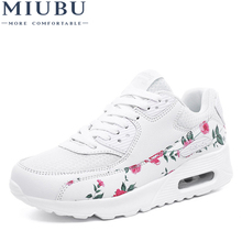 MIUBU Sneakers Women Fashion Summer Casual Shoes Woman Lace-up Breathable Basket Femme Trainers Women Shoes zapatillas mujer new 2016 fashion women trainers breathable sport woman shoes casual outdoor walking flats zapatillas mujer 2 colors 35 40