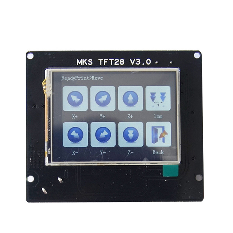 3d elements MKS TFT28 V3.0 touch screen power interruption detection display for RepRap controller panel 3d printer parts mks tft28 v1 1 3d printer smart touch screen controller