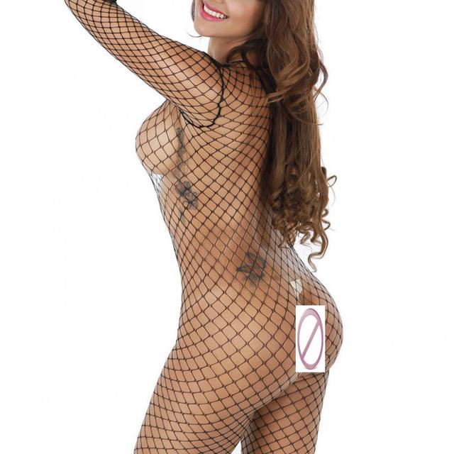 iShine Sexy Women sheer body stocking lingerie Ladies Babydoll Erotic Underwear lenceria Fishnet bodysuit clothing