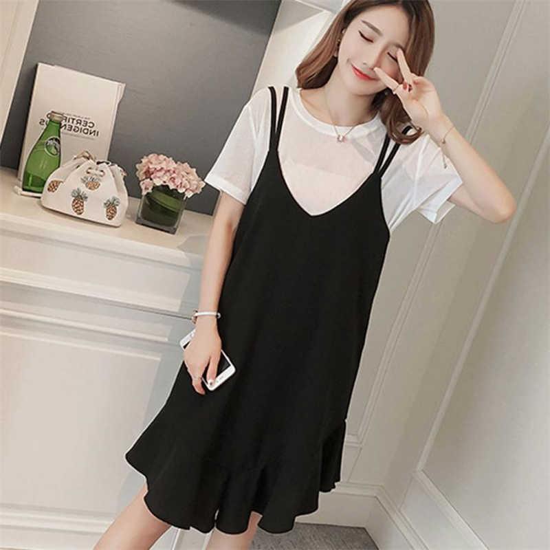 a5c955d19e2 KLV 2018 летние сарафаны новые модные женские корейские платья повседневные  хлопковые готовые сексуальные платья без рукавов