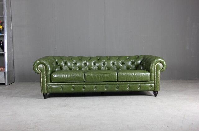 Moderne En Cuir Chesterfield Canapé Classique Canapé Pour Antique - Canapé classique