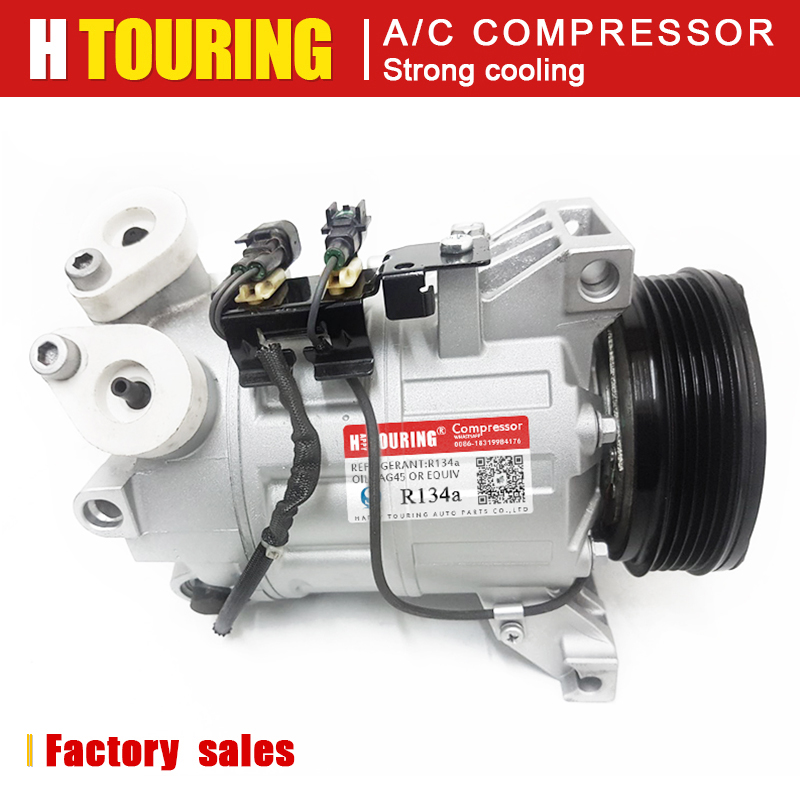 For Car ac compressor Ford Mondeo Smax Volvo S80 XC70 V70 S60 <font><b>30780443</b></font> 31250519 31291135 31305833 36000231 36000331 36000456 5PK image