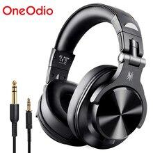 OneOdio Fusion bluetooth 5.0 sur loreille casque stéréo filaire/sans fil Studio professionnel DJ casque moteur enregistrement casque