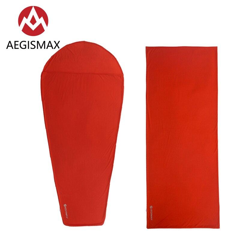 AEGISMAX Thermolite Sleeping Bag 5//8 Celsius Soft Outdoor Single Sheet Foldable